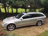 Mercedes E320 CDI AMG kitted 7 seater estate