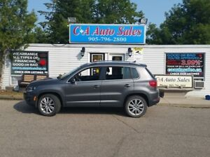 2013 Volkswagen Tiguan Highline with NAVI,Finance for low monthl