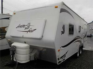 2010 ARCTIC FOX 22GQ TRAVEL TRAILER (STOCK#49687A)