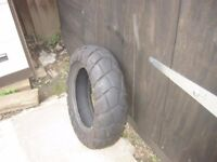 Yamaha TW bridgestone rear tyre 180/80/14