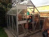 Free Garden Greenhouse 7ft x 5ft