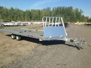 Miska 4 Place Aluminum Snowmobile Trailer