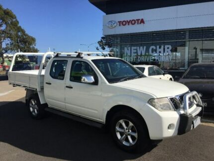 2010 Nissan Navara D40 ST-X King Cab White 5 Speed Automatic Cab Chassis Mornington Mornington Peninsula Preview