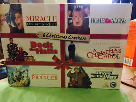 Christmas DVD box sets 6 sealed in cases