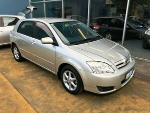 2006 Toyota Corolla ZZE122R Conquest Seca Silver 5 Speed Manual Hatchback Hobart CBD Hobart City Preview