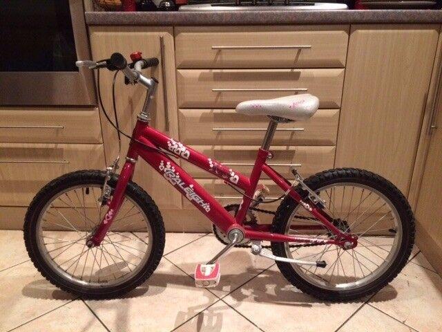 """Girls Raleigh Krush Bike 18"""""""