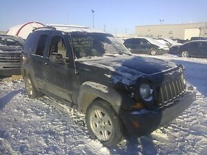 2006 Jeep Liberty for parts front end rear end doors