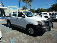 2008 Toyota Hilux KUN26R 08 Upgrade SR (4x4) White 5 Speed Manual Dual Cab Pick-up Homebush West Strathfield Area Preview