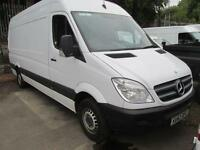 Mercedes-Benz Sprinter 313 Cdi LWB High Roof 3.5T Van DIESEL MANUAL WHITE (2013)