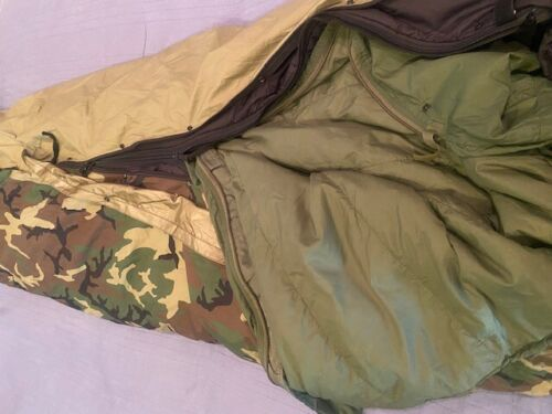 Military Modular Sleeping Bags (Two Piece System)