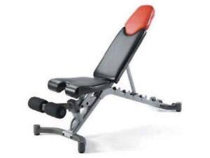 5.1 Bowflex Adjustable Bench