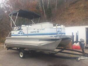 ***SOLD*** 2006 18' SUN PARTY 18' PONTOON WITH 4 STROKE