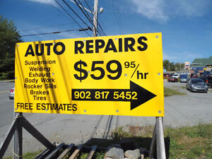BEST PRICES FOR ALL KINDS OF REPAIRS (15 MIN FROM HALIFAX)