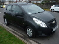 Chevrolet Spark 1.0i 16V 68BHP LS PLUS **£30 Yearly Road Tax** (black) 2012