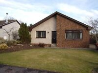 Three bedroom detached bungalow in sought after area in Letham, Angus