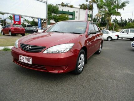 2005 Toyota Camry ACV36R Altise Red 4 Speed Automatic Sedan Dutton Park Brisbane South West Preview