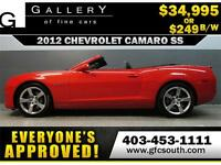 2012 CAMARO SS CONVERTIBLE  *EVERYONE APPROVED* $0 DOWN $249/BW!