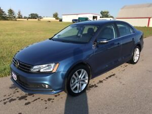 2015 Volkswagen Jetta Highline Sedan TDI