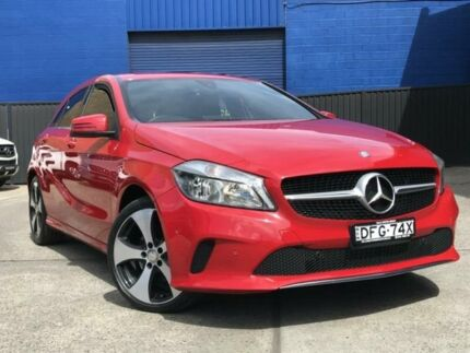 2016 Mercedes-Benz A200 W176 807MY d D-CT Red 7 Speed Sports Automatic Dual Clutch Hatchback
