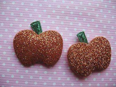60 Padded Glitter Pumpkin Halloween - Ao Halloween