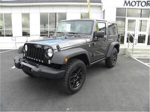 2016 Jeep Wrangler Willy's Edition