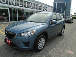 2015 Mazda CX-5 *UNLIMITED KM WARRANTY!! **ALLOYS & CRUISE**GX F