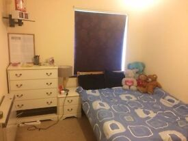 Spacious double room to rent in a 2 bed flat