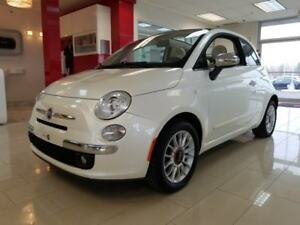2012 FIAT 500c Lounge, CONVERTIBLE, CUIR, BLUETOOTH