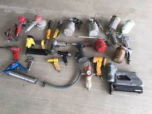 Deceased Estate - Assorted Air Tools Bundle Robina Gold Coast South Preview