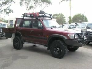 2000 Nissan Patrol GU II ST (4x4) Maroon 5 Speed Manual 4x4 Wagon Roselands Canterbury Area Preview