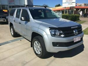 2015 Volkswagen Amarok 2H MY15 TDI420 4MOTION Perm Core Silver 8 Speed Automatic Utility Maryborough Fraser Coast Preview