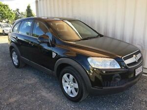 2006 Holden Captiva CG CX Black Sports Automatic Wagon Gaven Gold Coast City Preview