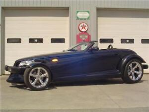 2001 Chrysler Prowler w/ ONLY 3000 KM's (Plymouth)