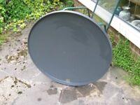 80cm multi-satellite tv dish aerial