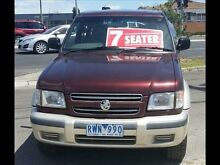 2002 Holden Jackaroo U8 SE LWB (4x4) Burgundy 4 Speed Automatic 4x4 Wagon Keysborough Greater Dandenong Preview