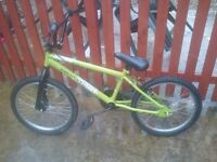 Kids green BMX