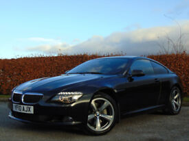 BMW 6 SERIES 3.0 635D SPORT 2d AUTO (black) 2010