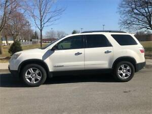 2008 GMC ACADIA ,  AUTOMATIQUE , 7 PASSAGERS ,  6 CYLINDRE