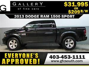 2013 DODGE RAM SPORT LIFTED *EVERYONE APPROVED* $0 DOWN $209/BW!