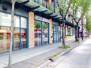 LEASE SPACE FOR RENT - HEART OF FRASER STREET!!!