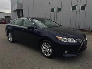 2013 LEXUS ES350 NAVIGATION CAMERA 49KM BLUE ON TAN
