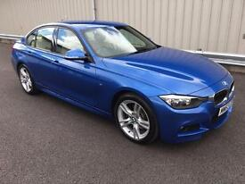 2013 63 BMW 3 SERIES 2.0 325D M SPORT 4D 215 BHP SALOON BUSINESS MEDIA DIESEL