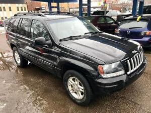 2004 JEEP GRAND CHEROKEE LTD LEATHER 4.7 V8 SUNROOF EXCELLENT
