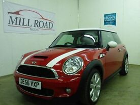 MINI HATCH COOPER 1.6 COOPER S 3d 172 BHP ONLY 2 OWNERS + FSH (red) 2006