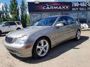 2004 Mercedes-Benz C-Class 1.8L WOW ONLY $5999