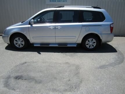 2012 Kia Grand Carnival VQ MY12 SI Silver 6 Speed Automatic Wagon Windsor Gardens Port Adelaide Area Preview
