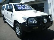 2011 Toyota Hilux KUN26R MY10 SR White 5 Speed Manual Utility Edwardstown Marion Area Preview