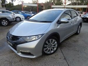 2012 Honda Civic FK VTi-L Silver 5 Speed Automatic Hatchback Sylvania Sutherland Area Preview