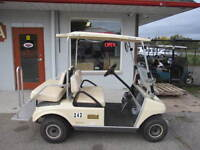 Just Arrived 1999 Club Car DS Gas Golf Cart: Excellent Condition