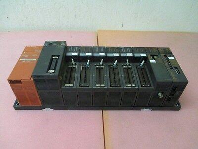 Mitsubishi Q2ASHCPU-S1 PLC Module w A1SX42 Input, A1SY42 Output, A1SJ71QE71-B2